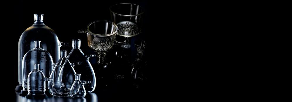 桐山ロート & 理化学実験用 ガラス装置 & 化学ミニプラント